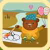 熊宝宝和猫博士涂色大巴士 - 创意绘画游戏大全 2